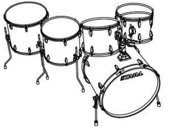 338x249 Tama Imperialstar Complete Drum Set