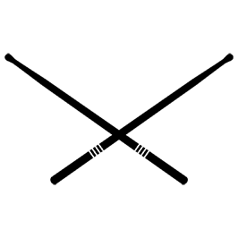 266x266 Drumsticks Clip Art