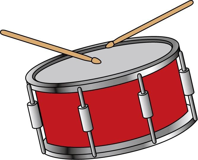 667x538 Instrument Clipart Snare Drum