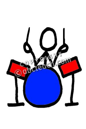 300x450 Clip Art Stick Guy Drummer Clipart Panda