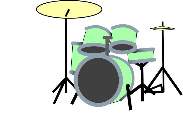 600x384 Drum Mini Clip Art