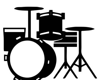 340x270 Drum Svg Etsy