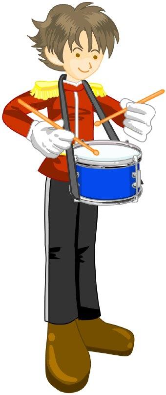 340x807 Snare Drum Drummer Clip Art