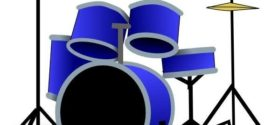 272x125 Clipart Drum Kit Collection On Drums Clip Art