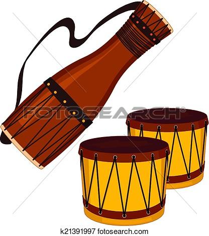 416x470 Drums Clip Art