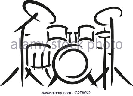 442x320 Drums Sketch Style Stock Vector Art Amp Illustration, Vector Image