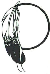 200x294 Black Tribal Arrow Silhouette Clipart