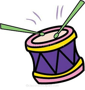 282x300 Free Clipart Drums