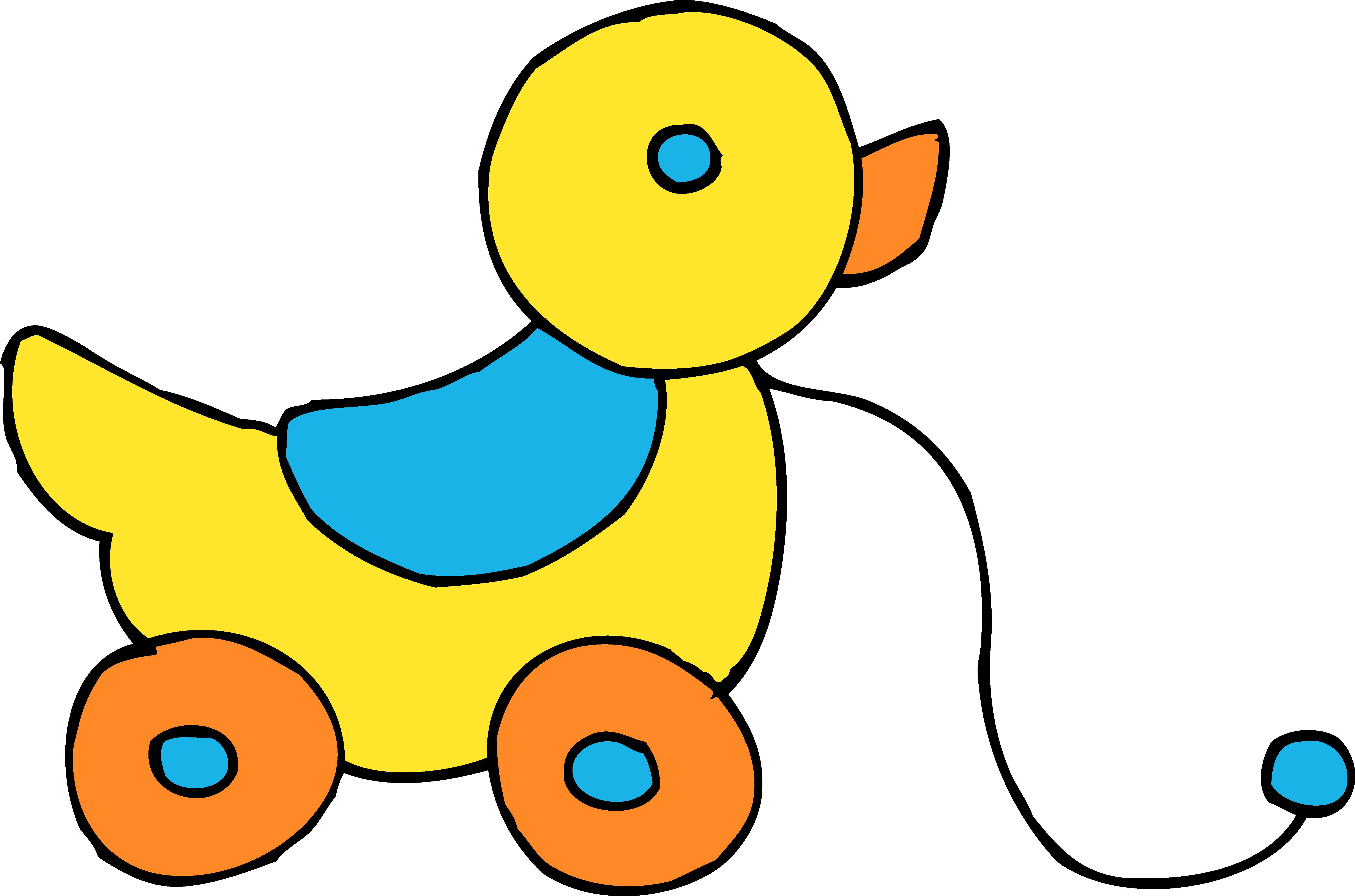 6279x4154 Duck Clipart Ducky