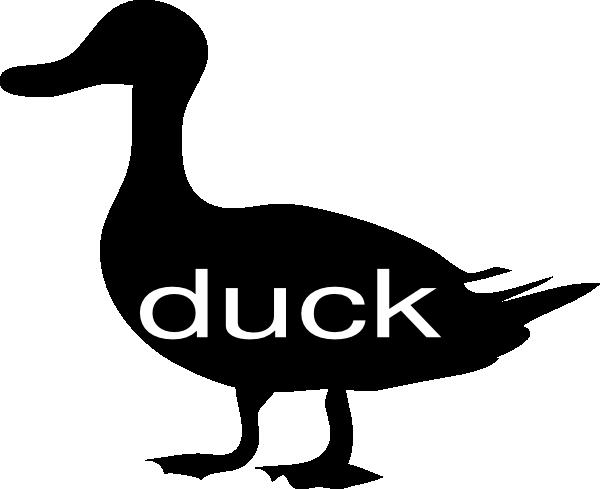 600x489 Duck Clip Art