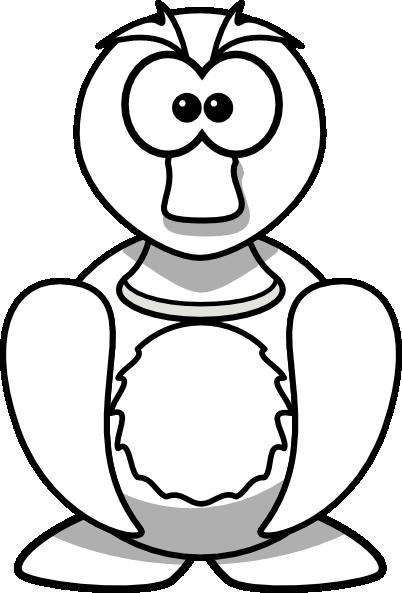 402x593 Duck Outline Clip Art