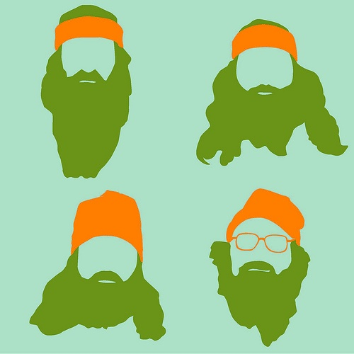 Duck Dynasty Beard Clipart