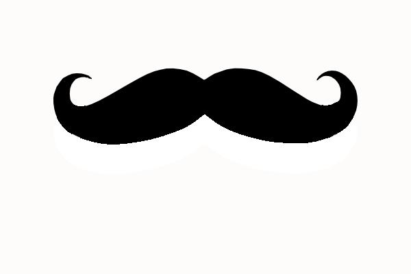 600x400 Beard Clipart Mustache Template