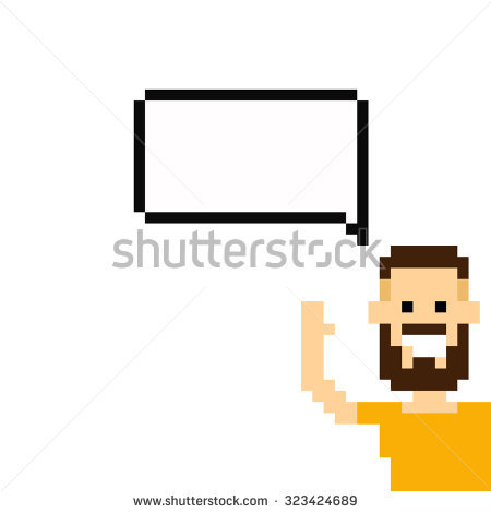 450x470 Beard Clipart Pixel