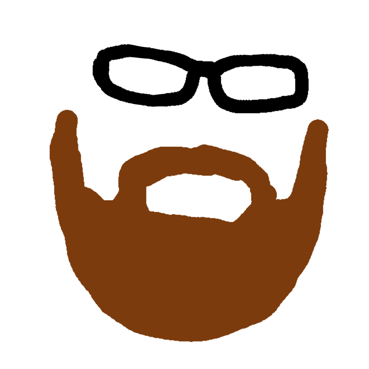 1500x1500 Brown Beard Clipart Clipartfest