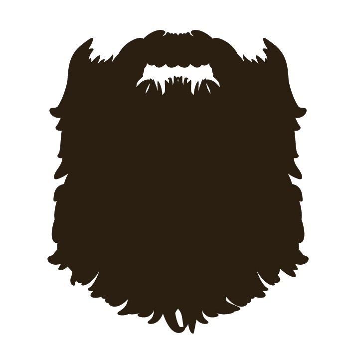 696x696 Cute Beard Clipart Clipartfox 2