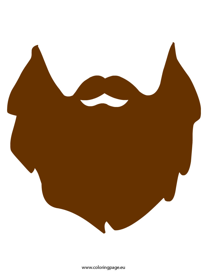 825x1095 Duck Dynasty Beard Clipart