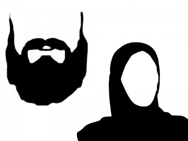 640x480 Beard Clipart Black Beard