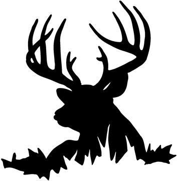 353x360 Stag Clipart Duck Hunting