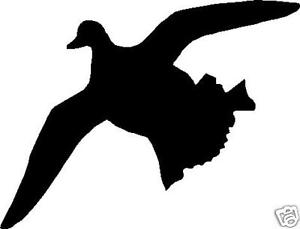 300x229 Silhouette Duck Flying Hunting Decal 6.5 X 5 Sticker Ebay