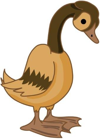 340x472 Duck Clip Art