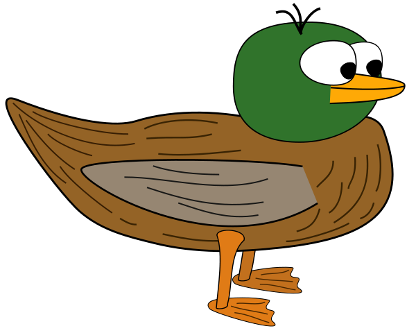 600x480 Duck Clipart Image Free Clipart Images
