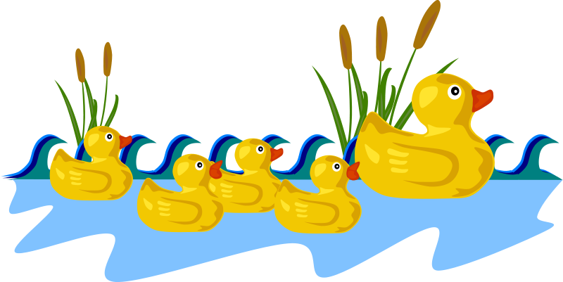 800x401 Free Clipart Rubber Duck Family Gerald G
