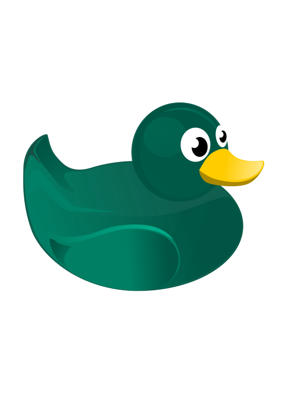 566x800 Rubber Duck Free Vector 4vector