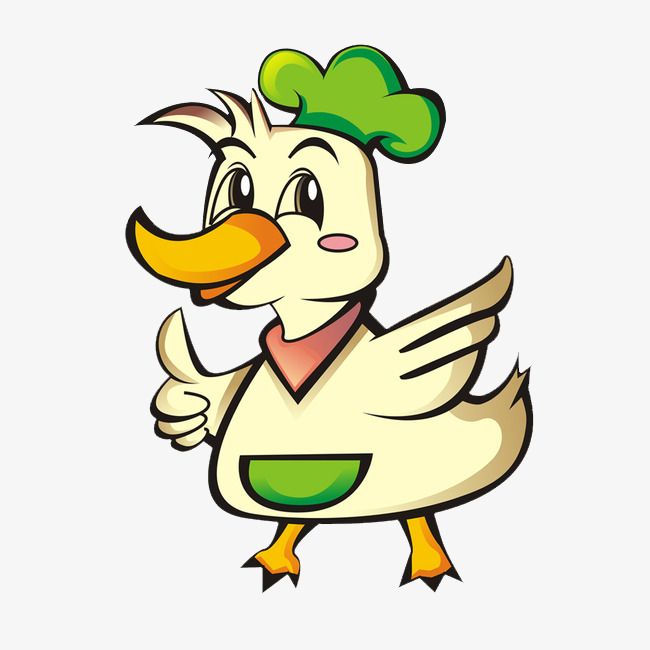 650x650 Chef Ducks, Chef Hat, Cartoon Duck, Duck Png Image For Free Download
