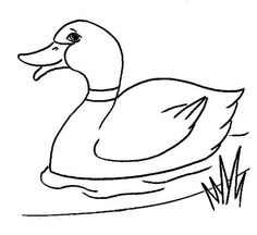 236x216 Outline Of Duck Group