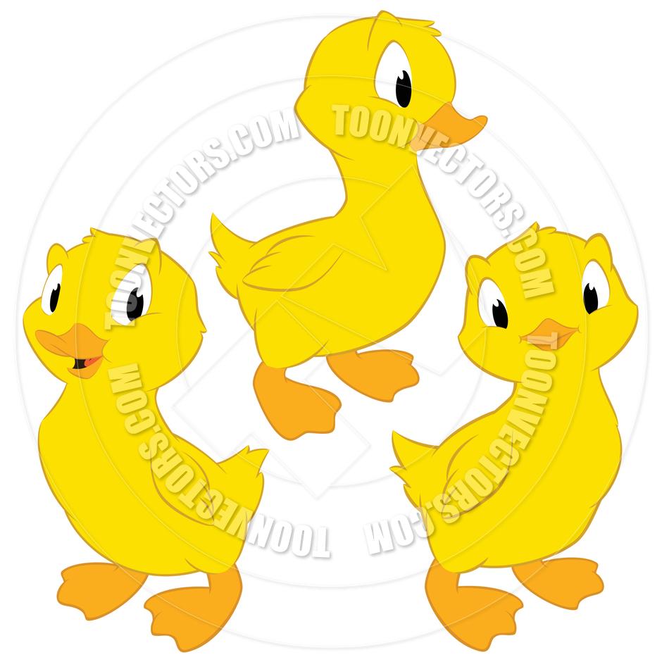 940x940 Cartoon Ducklings By Mumut Toon Vectors Eps