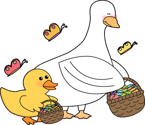 550x476 Cute Ducks Clipart