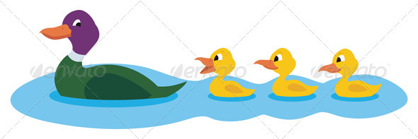 590x197 Pond Clipart Duck Duckling