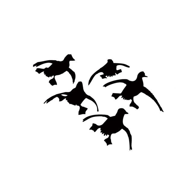 640x640 Flying Ducks Landing Hunting Decals Sticker Waterfowl Dynasty Duck