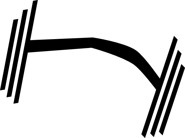 600x448 Heavy Dumbbell Clip Art