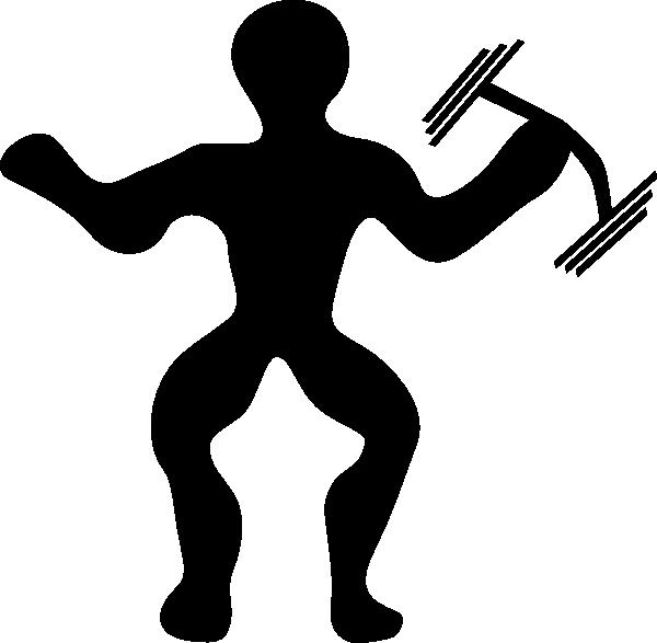 600x587 Dumbbell Clip Art