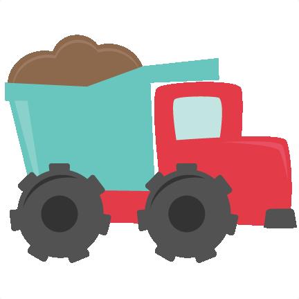 432x432 Dump Truck Svg Cutting Files For Scrapbooking Dump Truck Svg Cut File