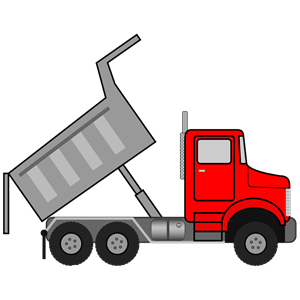 300x300 Scripted Dump Truck Clipart, Cliparts Of Scripted Dump Truck Free
