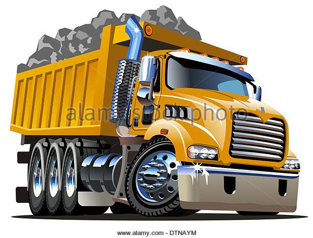 640x486 Vector Cartoon Dump Truck Stock Photos Amp Vector Cartoon Dump Truck