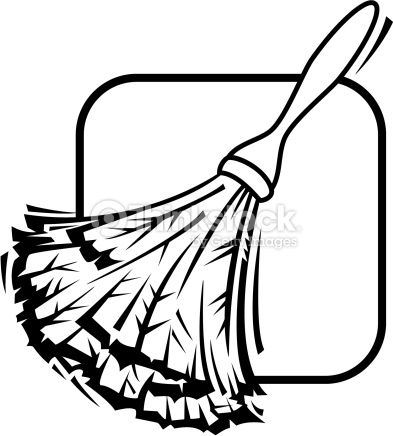 393x436 Feather Duster Clipart