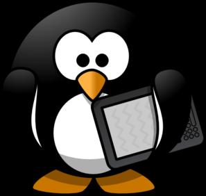 297x282 Ebook Penguin Clip Art