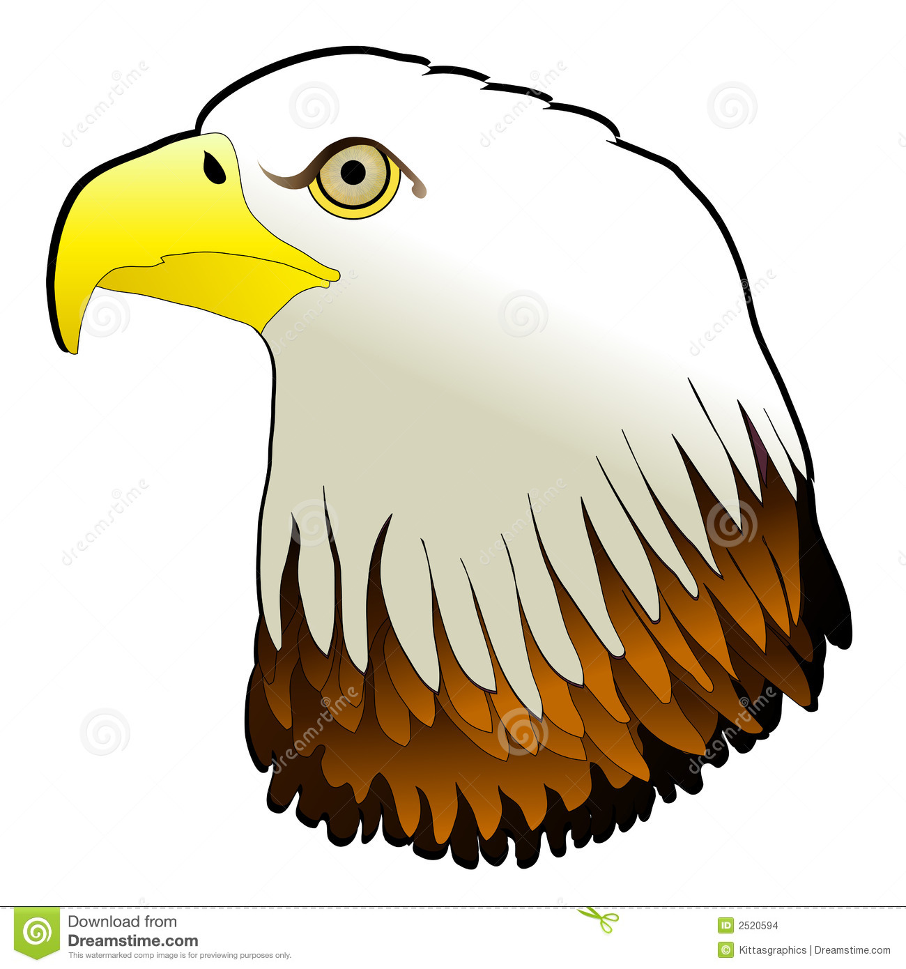 1300x1390 bald eagle clip art