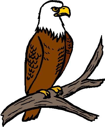 356x431 Eagle Clip Art 2