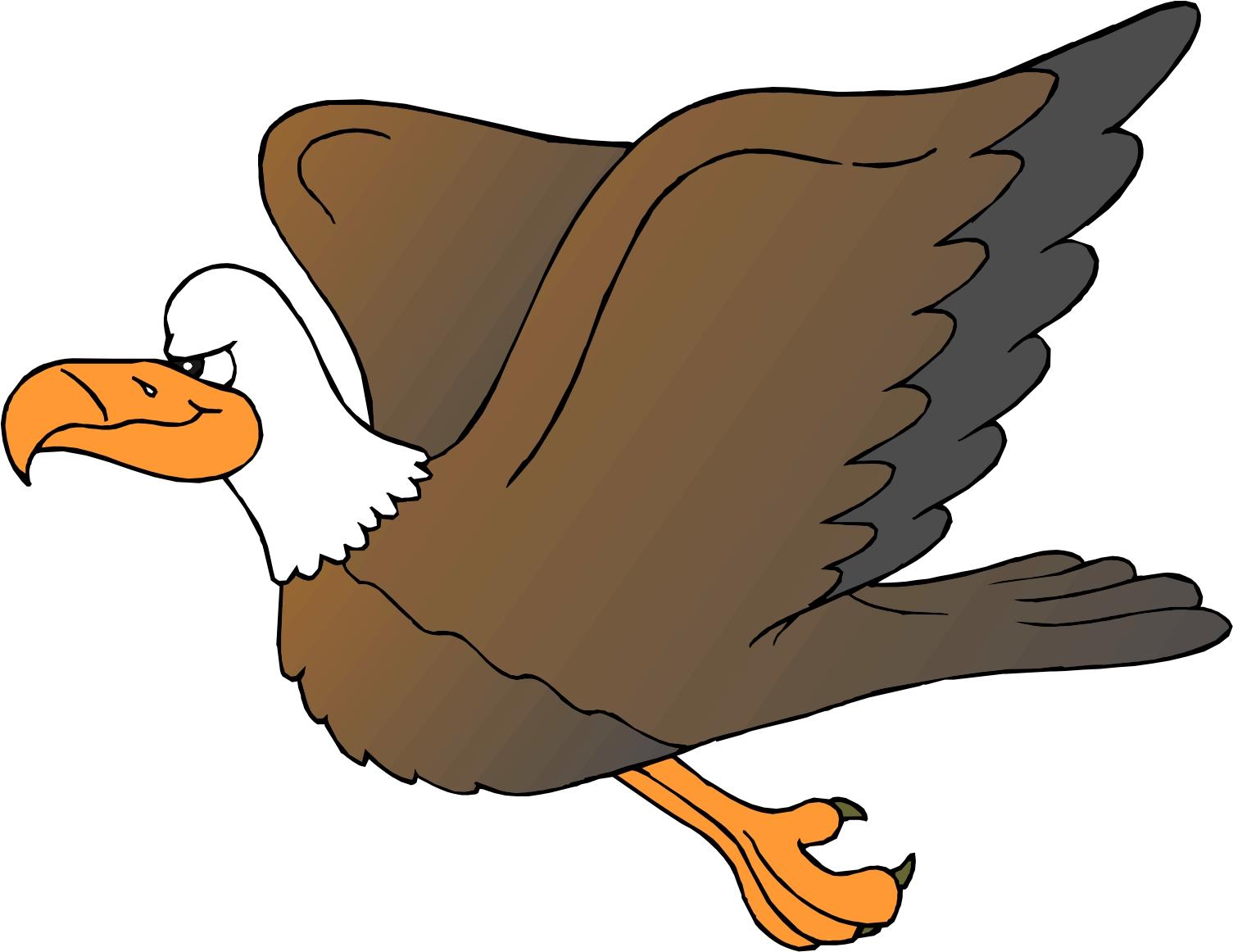 1505x1162 Free Cartoon Eagle Clipart
