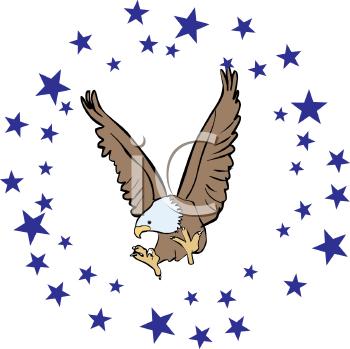 350x349 Eagle Clip Art Free