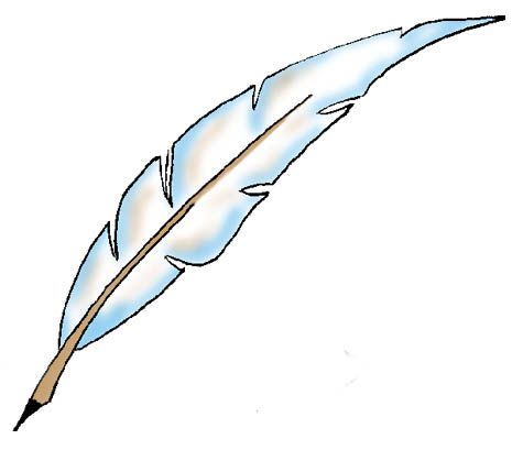465x409 Eagle Feather Drawing Clipart Kid