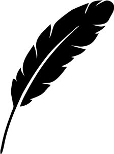 224x300 Feather Silhouette Clip Art