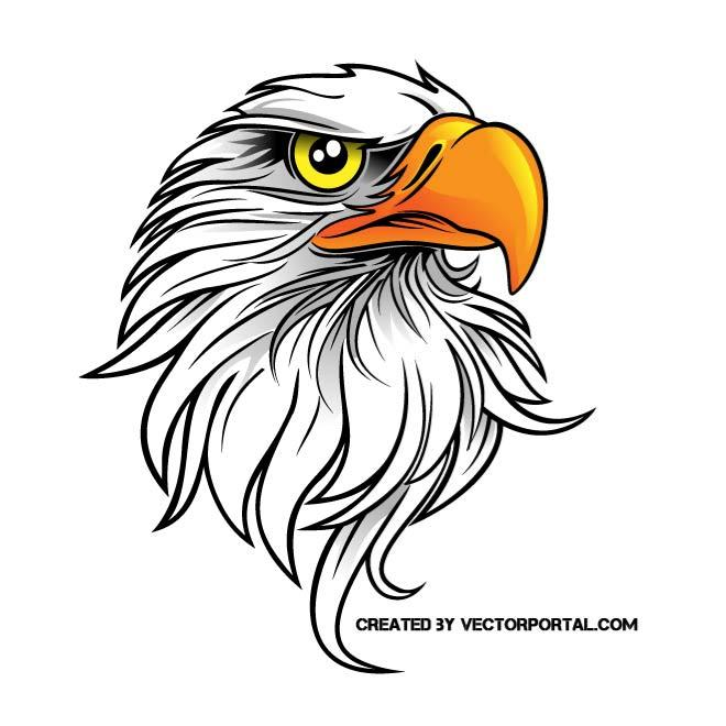 660x660 Eagle Vector Clip Art