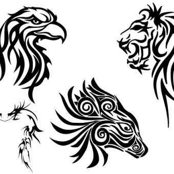 Eagle Head Clipart Black And White