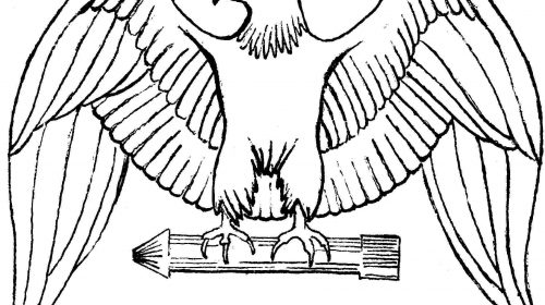 500x280 Bald Eagle Coloring Page Awesome Awesome Bald Eagle Clip Art Black